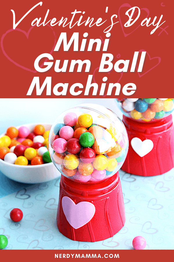 Mini Gum Ball Machines