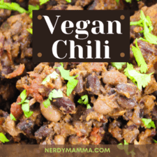 Vegan Chili Recipe – Something Hot to Chill About