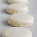 baking the macarons