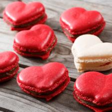 Heart Macarons Recipe – Cute Valentine Macarons