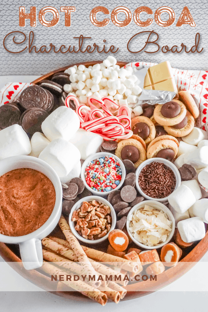 Hot Cocoa Charcuterie Board