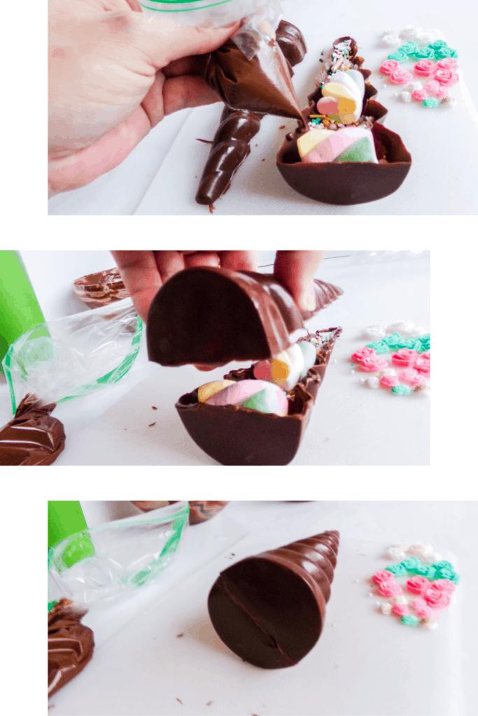 Unicorn Horn Hot Cocoa Bombs Recipe