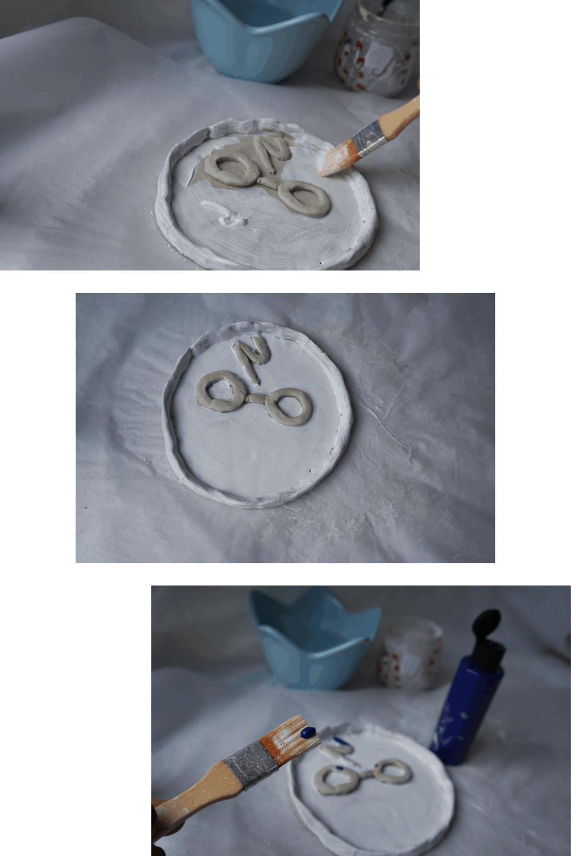 DIY Harry Potter clay bowl