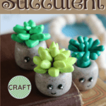Mini Clay Succulent Craft