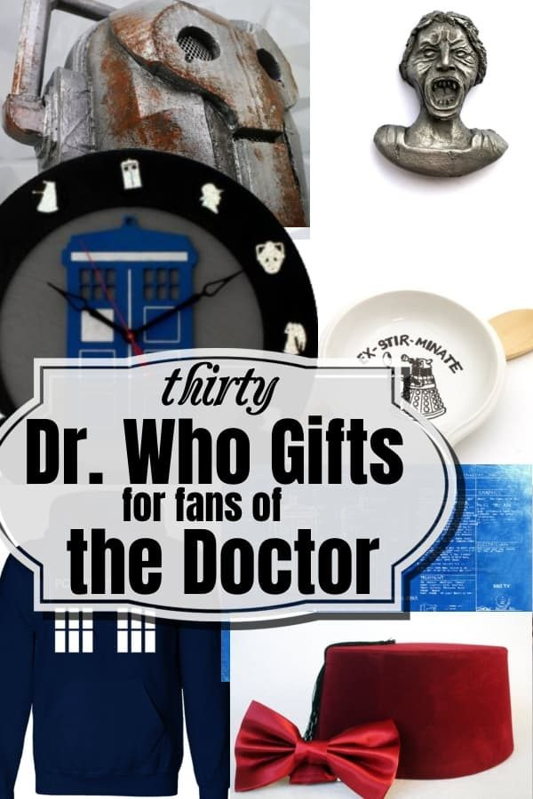 You have a choice. You can run. Or you can fight. Or you can run, then fight. All I have is a Sonic Screwdriver and hope. Will that be enough? Check out these 30 Dr. Who Gifts for Fans of the Doctor and see. #nerdymammablog #drwho #thedoctor #giftguide