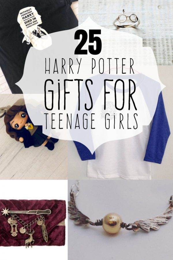 I love Harry Potter. And the fact is, so do teen girls. If you're looking for your witch a gift, look no further. Here are 25 Harry Potter Gifts for Teenage Girls. You're welcome.